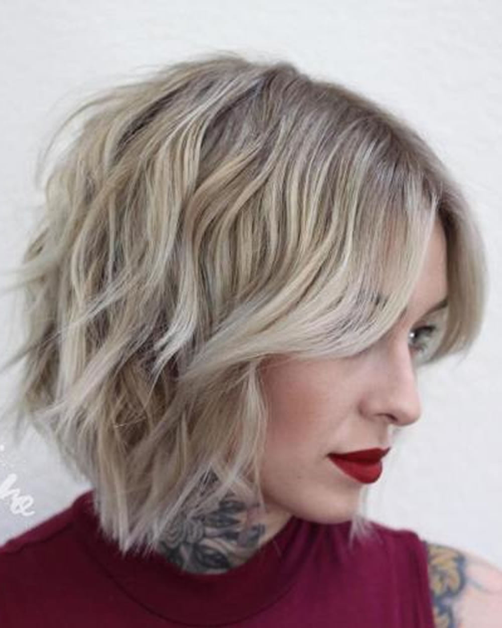 Short Choppy Bob Haircuts 2018-2019