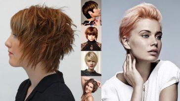 Short Hair Models 2018 - Newest Short Haircut Designs for 2018