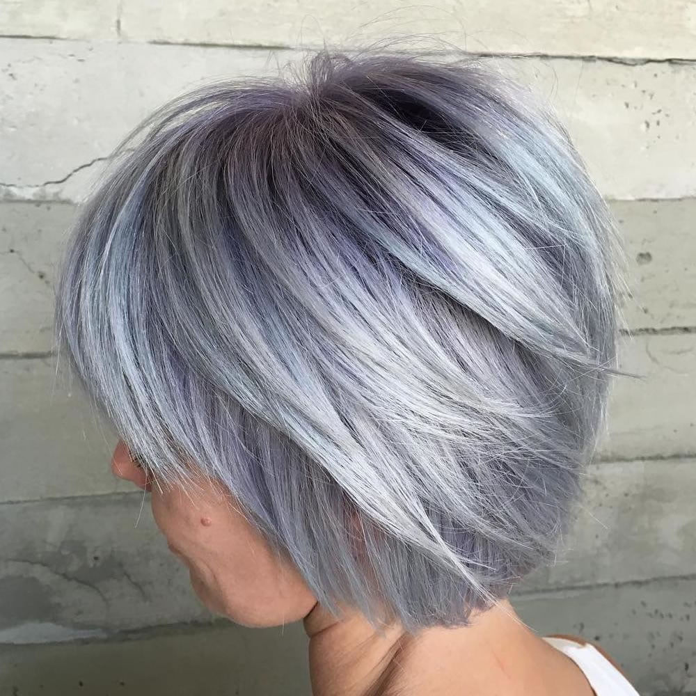 Short Silver Hairstyles 2018 - Hairstyles By Unixcode