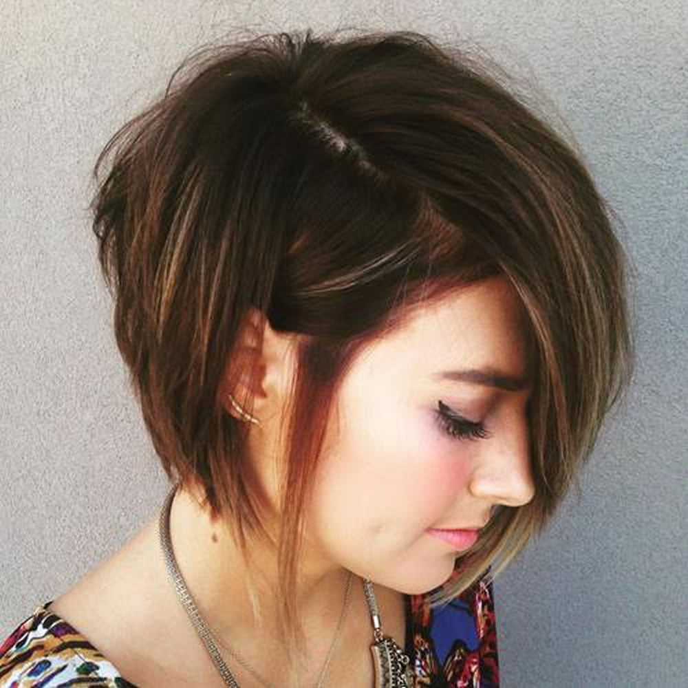 short layered hairstyles 2018 for women who love short hairstyles hairstyles. Black Bedroom Furniture Sets. Home Design Ideas