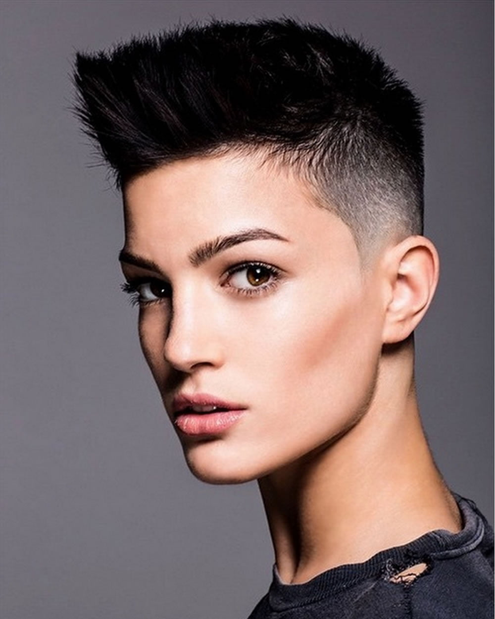 short pixie hairstyles trend hair colors for spring summer 2018 2019 page 7 hairstyles. Black Bedroom Furniture Sets. Home Design Ideas