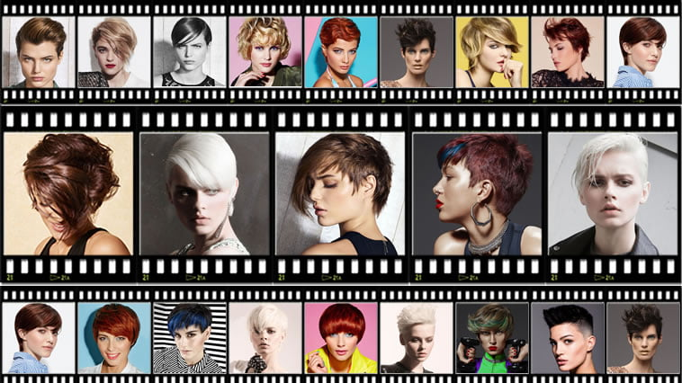 Short Pixie Hairstyles Trend Hair Color Inspirations for Spring-Summer 2018-2019