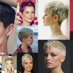 Super Short Pixie Haircuts & Hair Colors 2018-2019