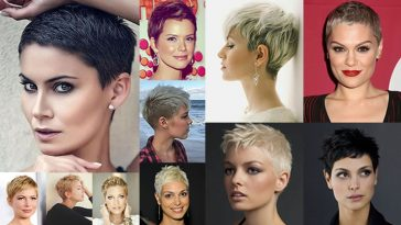 Super Short Pixie Haircuts & Hair Colors 2018-2019