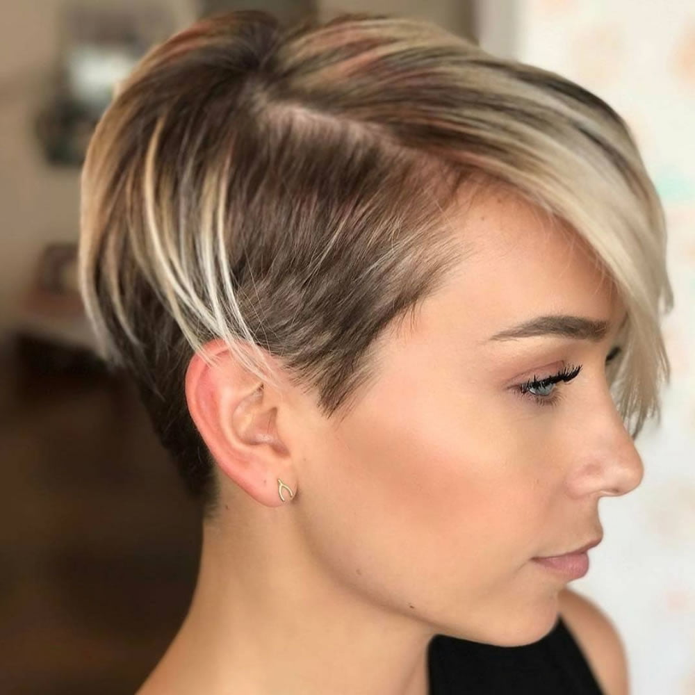 Short Pixie Hairstyles for Ladies 2018-2019