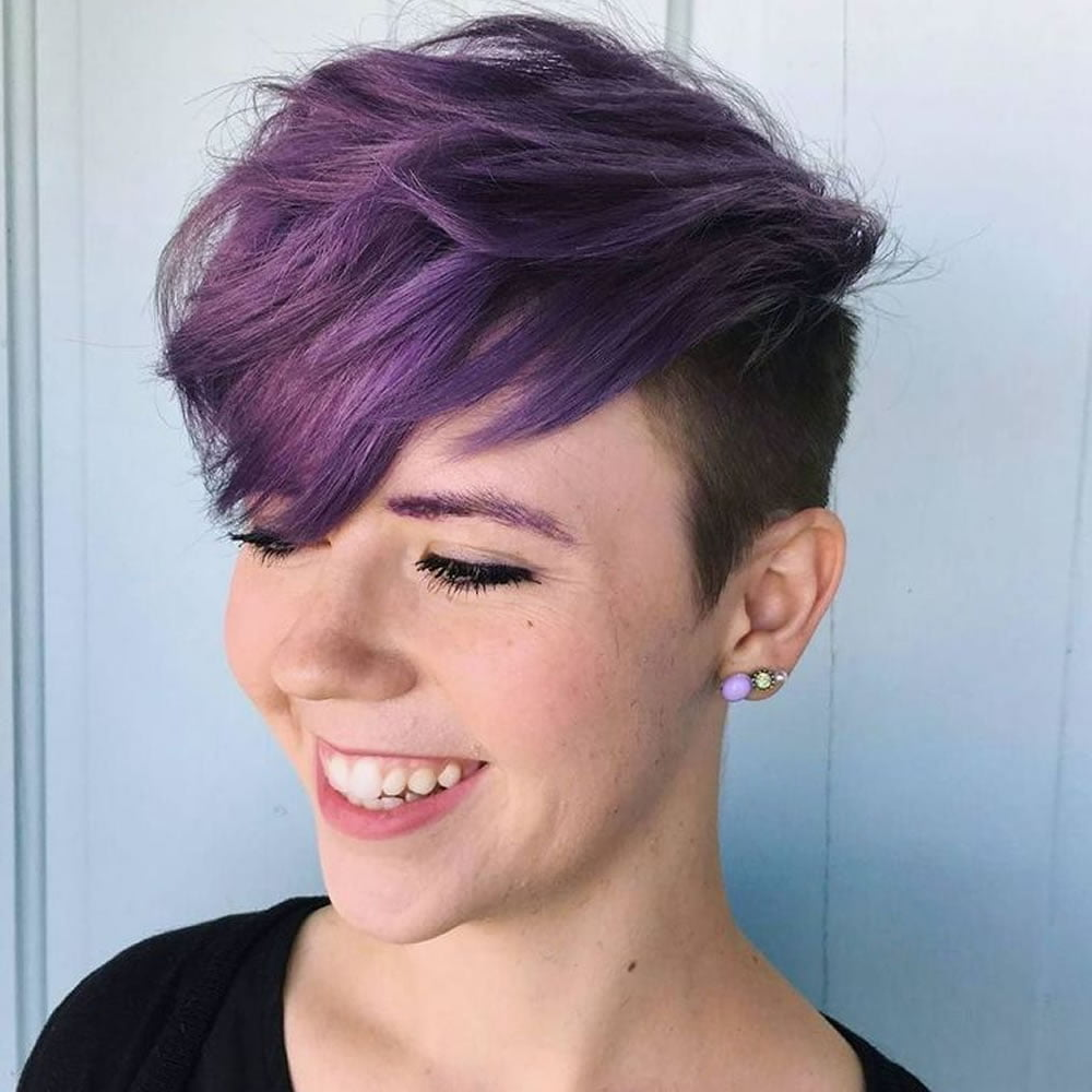 Undercut Short Pixie Hairstyles For Ladies 2018 2019 Page 11