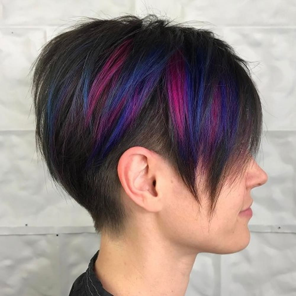Undercut Short Pixie Hairstyles For Ladies 2018 2019 Page 2 Hairstyles