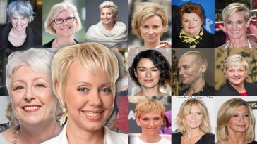 Older Women Hair Styles for 2018 New Year (Pixie & Bob & Short Hair or Other Hairstyles)