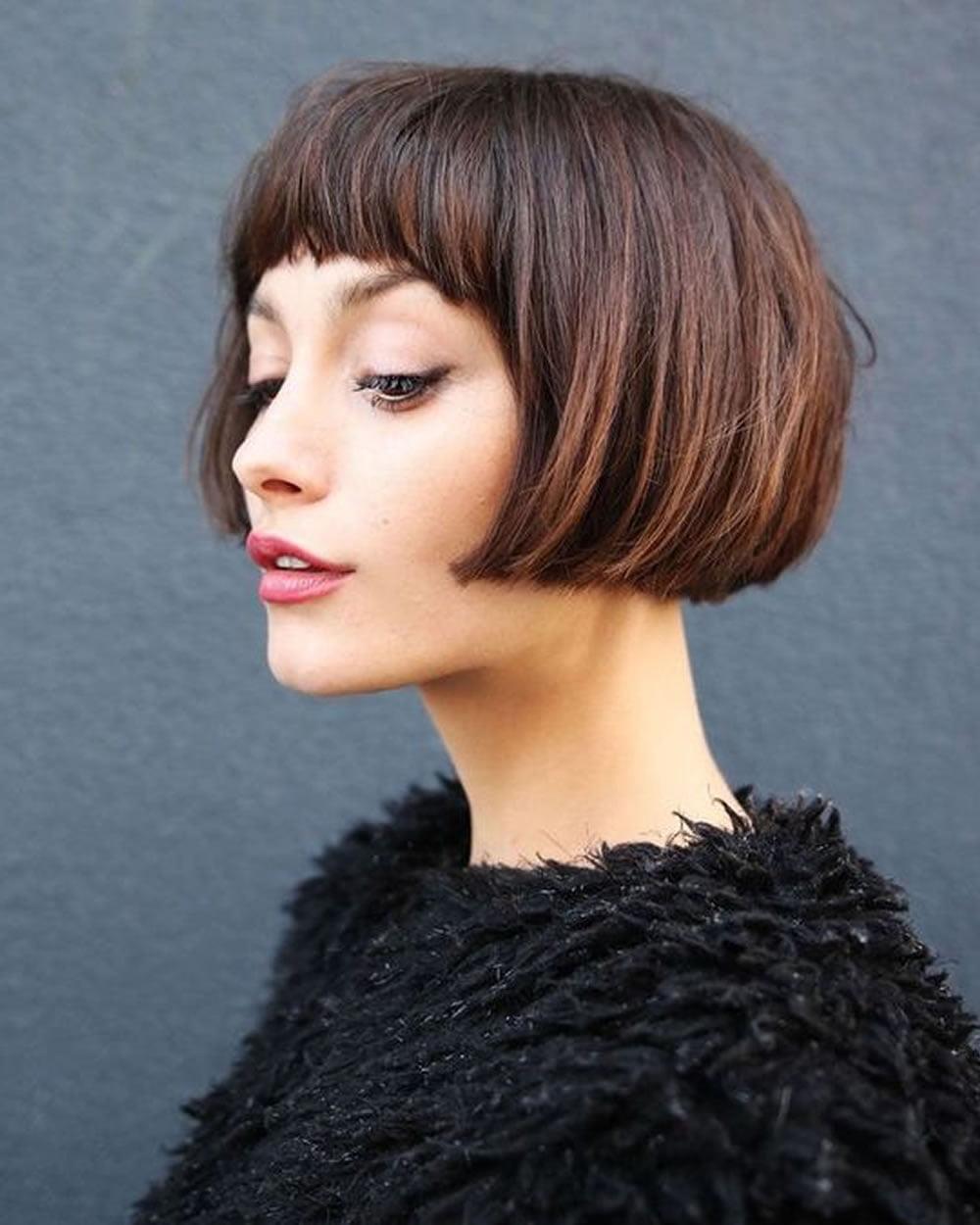 Short Bob Haircuts For Fine Hair Hairstyles 2018