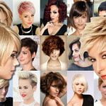 Short Hair Style Ideas for 2018 & Pixie Haircuts & Bob Hair Ideas for Ladies