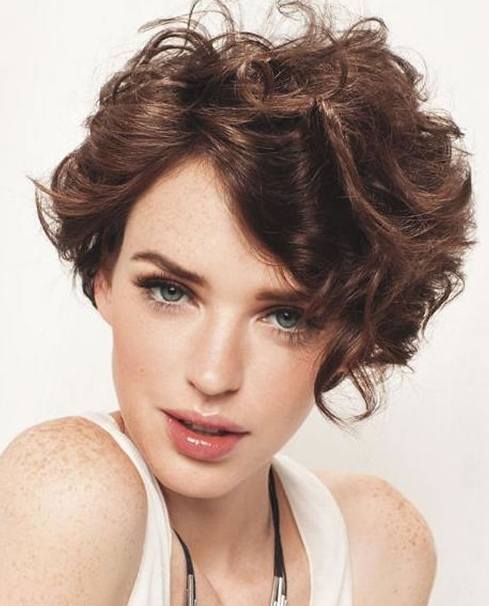 Asymmetrical Short Curly Hair Styles 2018 2019 Amp Short Bob Haircuts Page 8 Hairstyles