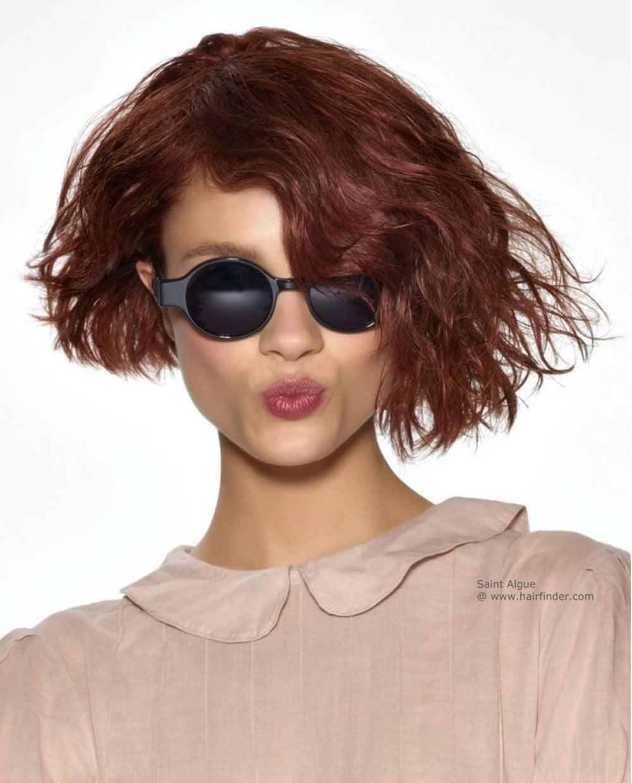 Asymmetrical Short Curly Hair Styles 2018 2019 Amp Short Bob Haircuts Page 10 Of 10