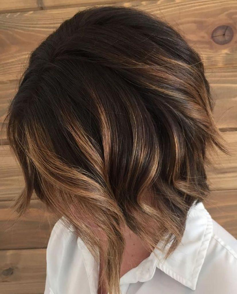 Шатуш на короткие волосы пошагово фото