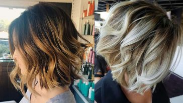 Balayage Short Bob Hairstyles For 2018 Haircuts Hair Ideas