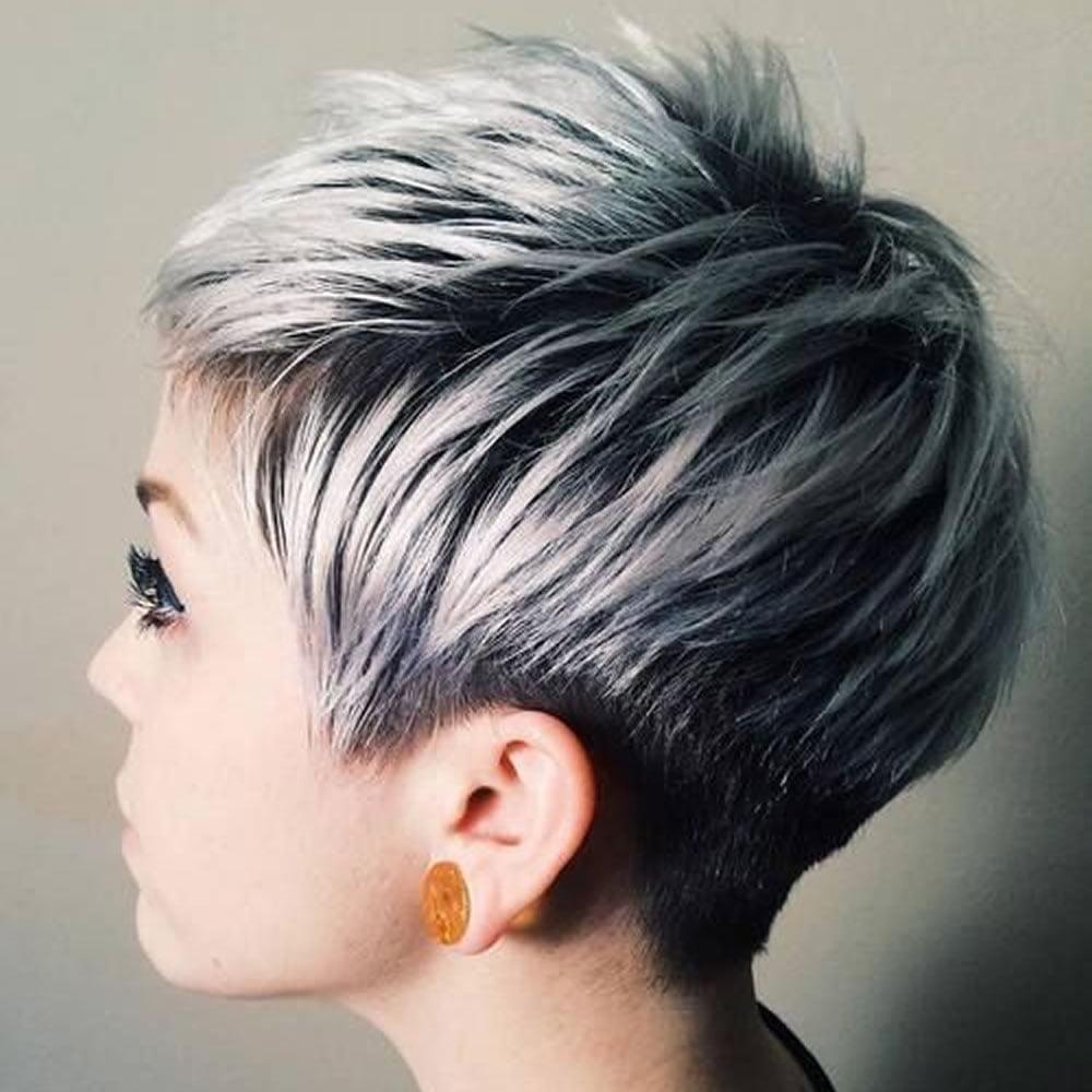Пикси стрижки окраска волос