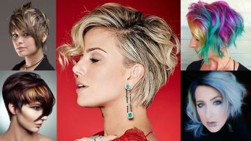 Balayage Short Hairstyles & Pixie Haircuts & Short Balayage Hair Colors 2018