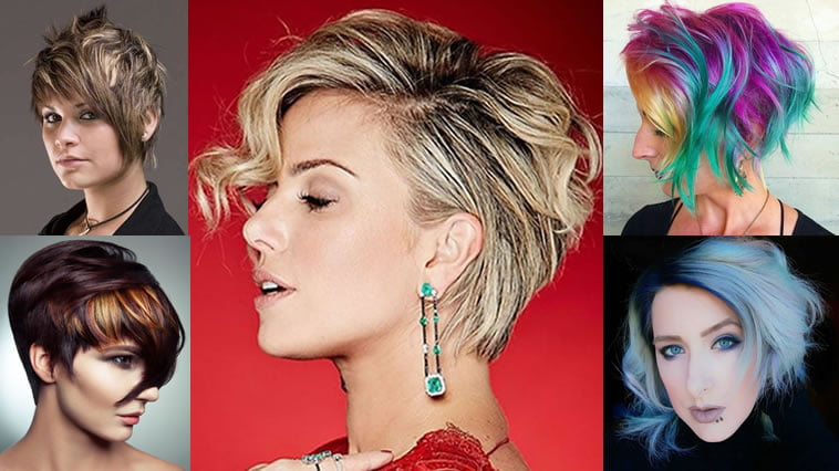 Hair Styles For Short Hair With Color: Balayage Short Hairstyles & Short Haircuts & Balayage Hair