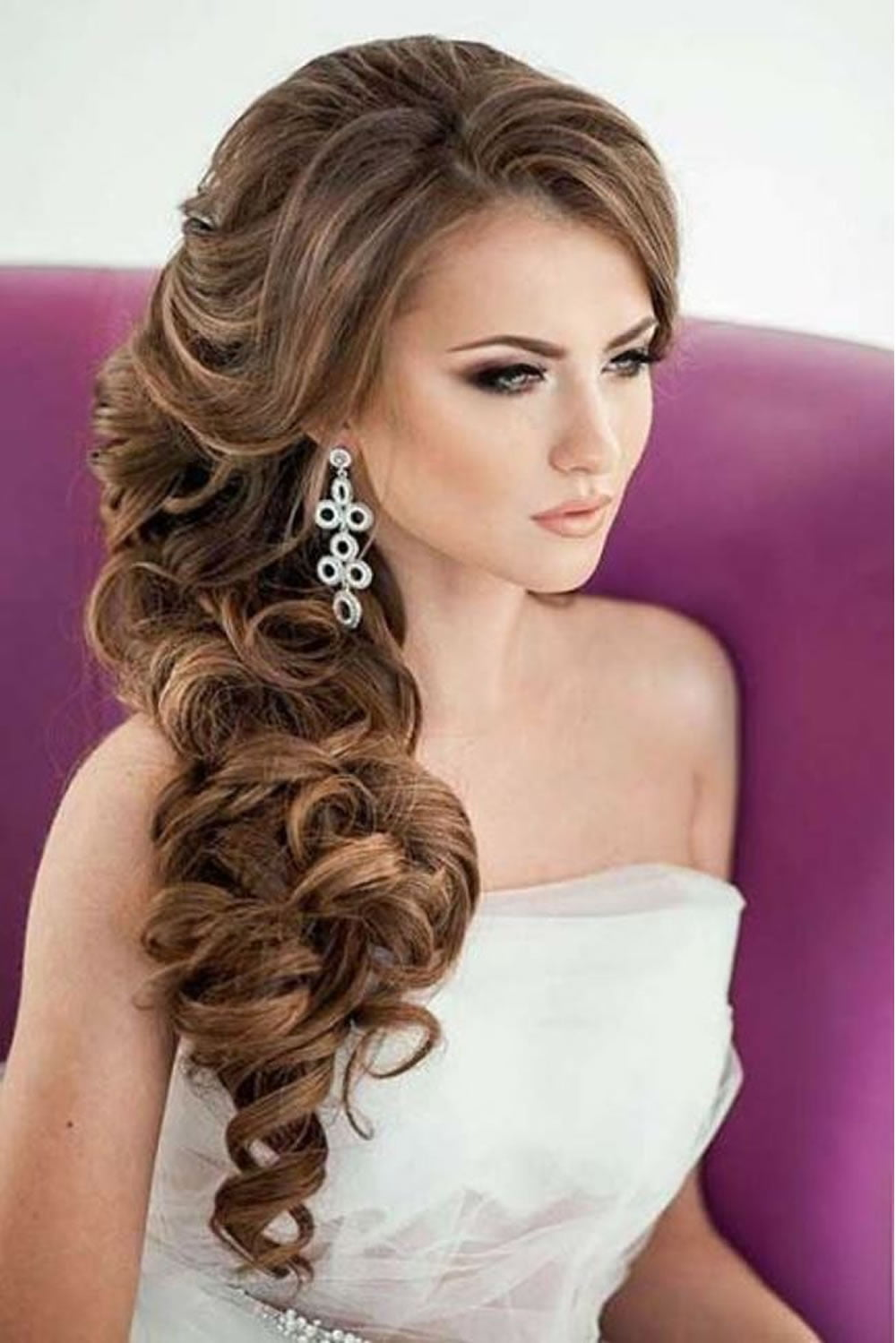 Hair Ideas For Christmas Party Part - 46: Christmas Party Hairstyles U0026 Haircuts For 2018 - Trendy Party Hair Ideas