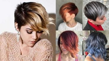 Ombre Short Hairstyles 2018 - Trend Ombre Hair Colours - Short Haircut Image