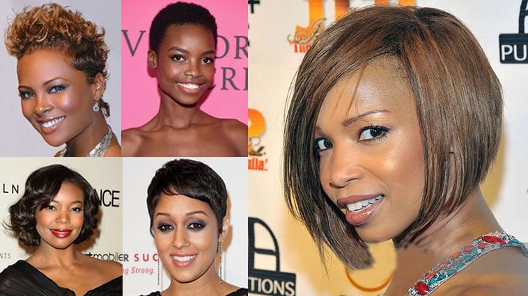 Short Haircuts African American Women 2018 & Very Short Pixie Black Hair