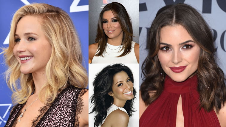 Hairstyles for Attractive Woman - Medium Lenght Hair Cut Image