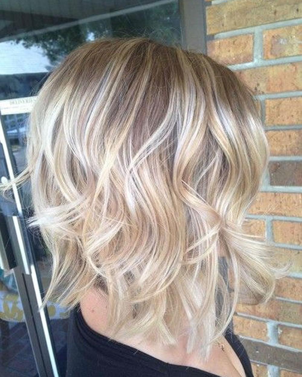 2018 Short Layered Bob Hairstyles Short Haircuts For Modern Women