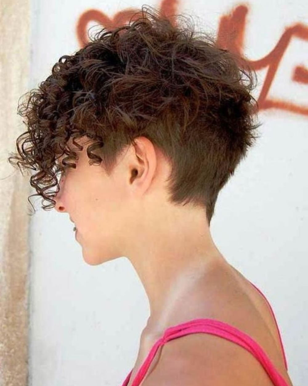 The Newest 2018 Undercut Hair Design For Girls Pixieshort Haircut
