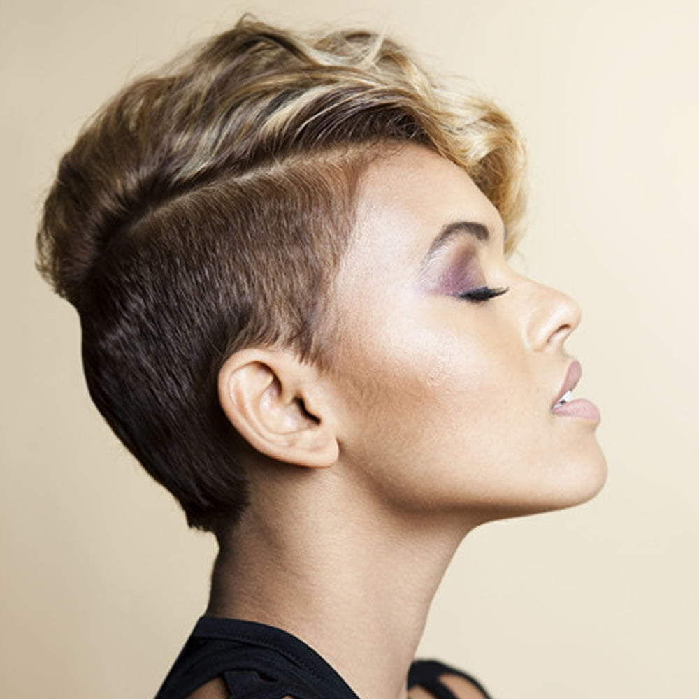 the newest 2018 undercut hair design for girls � pixie