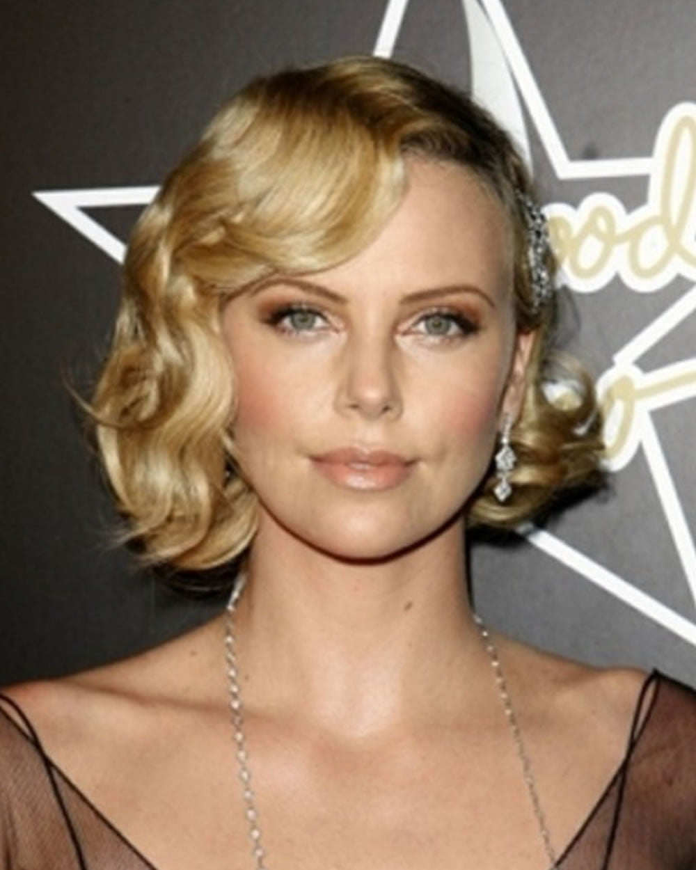 Finger Waves Wedding Hairstyle: 25 Modern Finger Wave Short Bob Haircut & Hairstyle Images