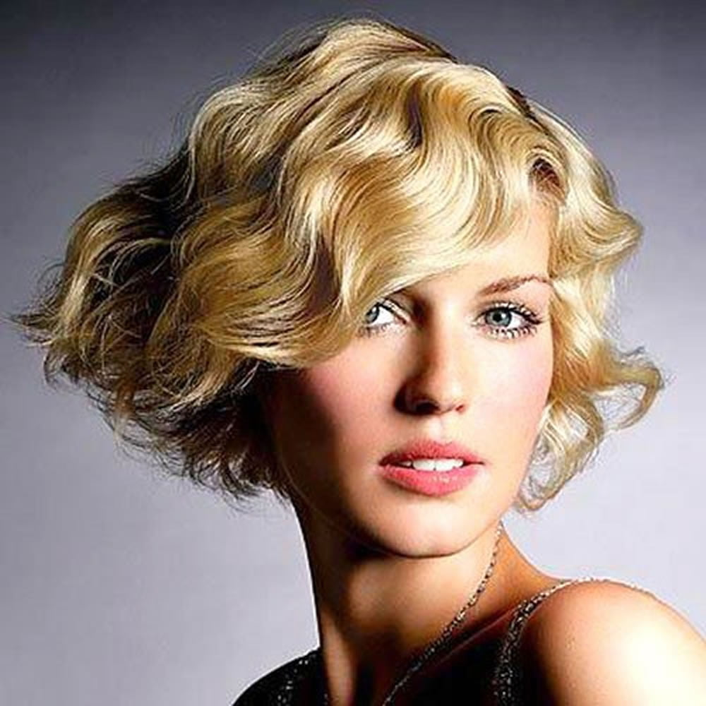Finger Wave Short Bob Haircut & Hairstyle Images for 2018-2019