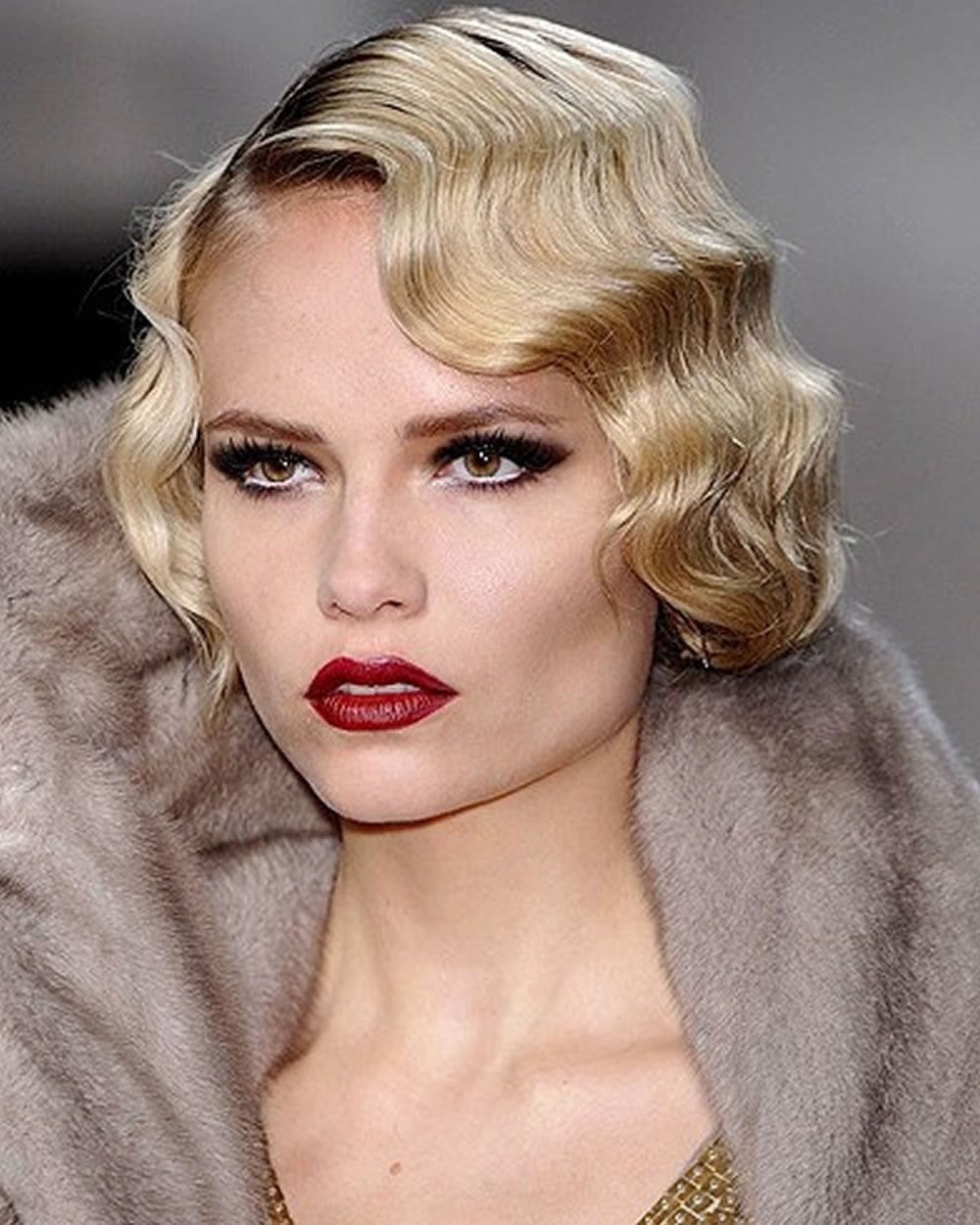 Finger Waves Wedding Hairstyle: Finger Wave Short Bob Haircut & Hairstyle Images For 2018