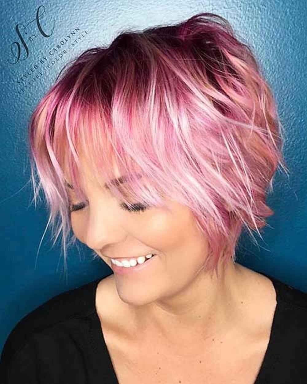 29 Top Medium Bob Haircuts & Layered, Wavy, Curly Etc. Bob