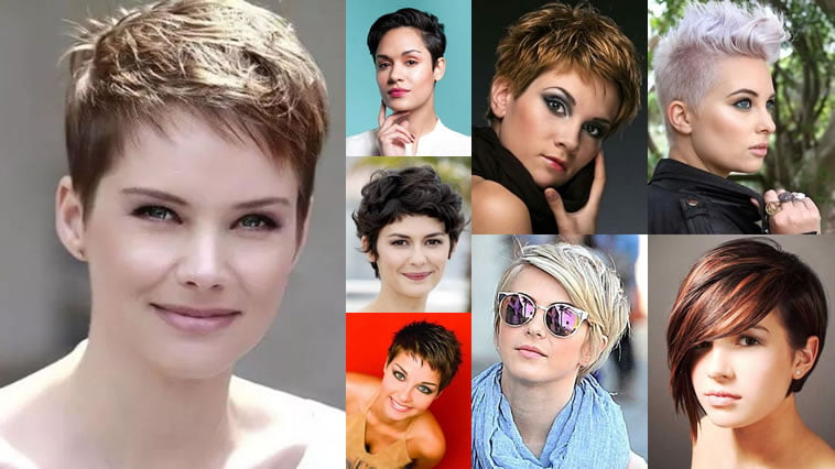 Pixie Hairstyles for Round Face and Thin Hair 2018 – HAIRSTYLES