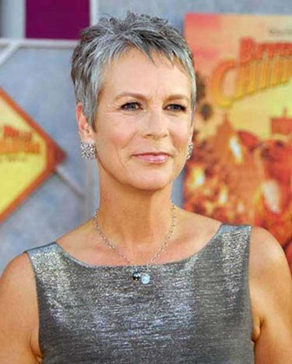Short Gray Hairstyles For Older Women Over 50 Gray Hair