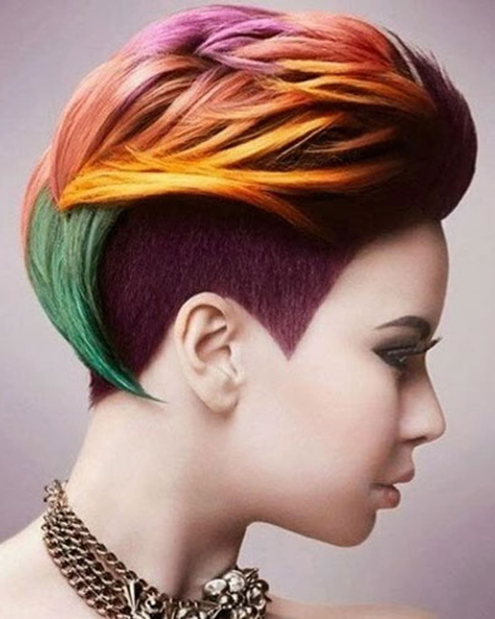 Short Hair Color For Spring Summer 2018 2019 Super Pixie