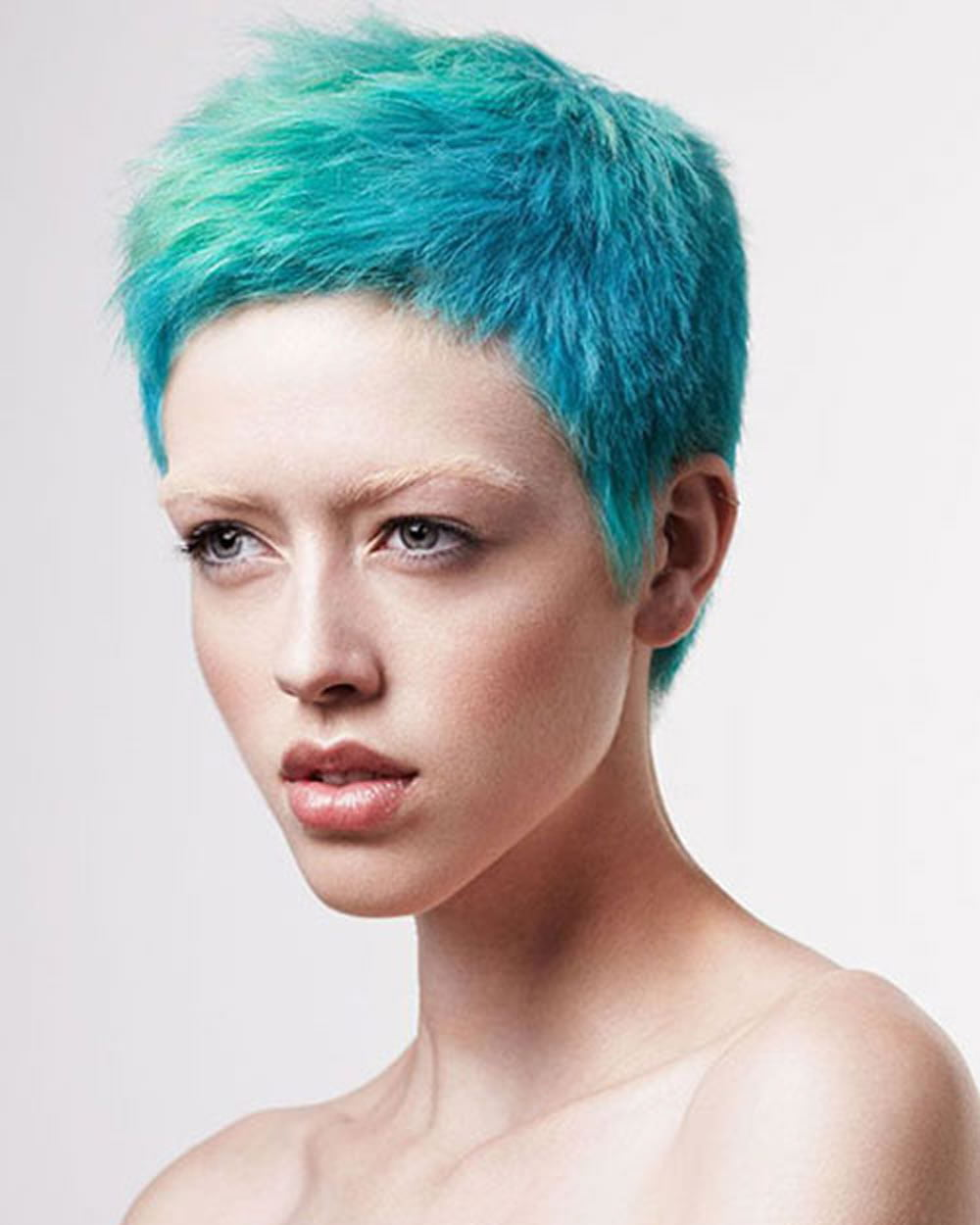 Short Hair Color for Spring & Summer 2018-2019 & Super Short Pixie Hair