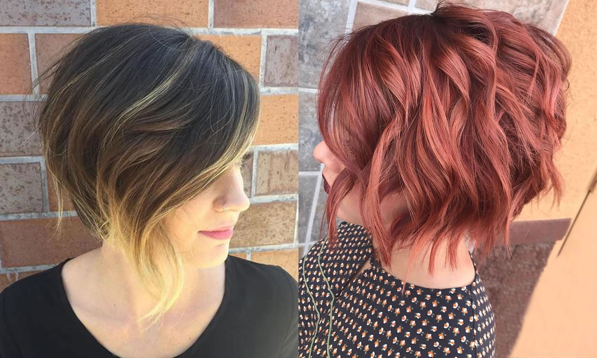 Balayage Bob Hairstyles Hair Colors For 2018 2019 Page 8 Of 10