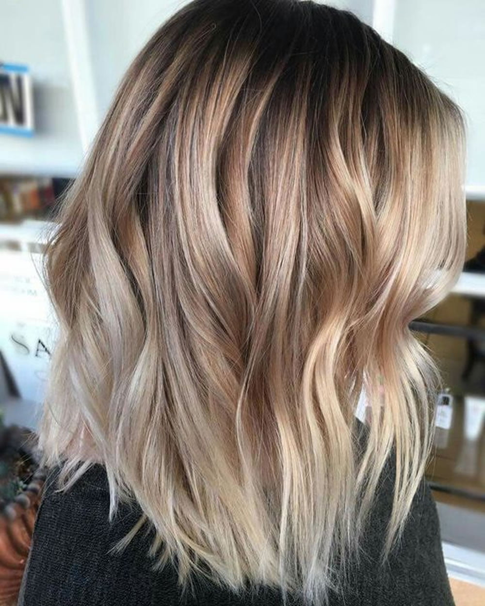 Balayage Ombre Highlights 2018: Dark, Brunette, Blonde etc. Hair Ideas – HAIRSTYLES