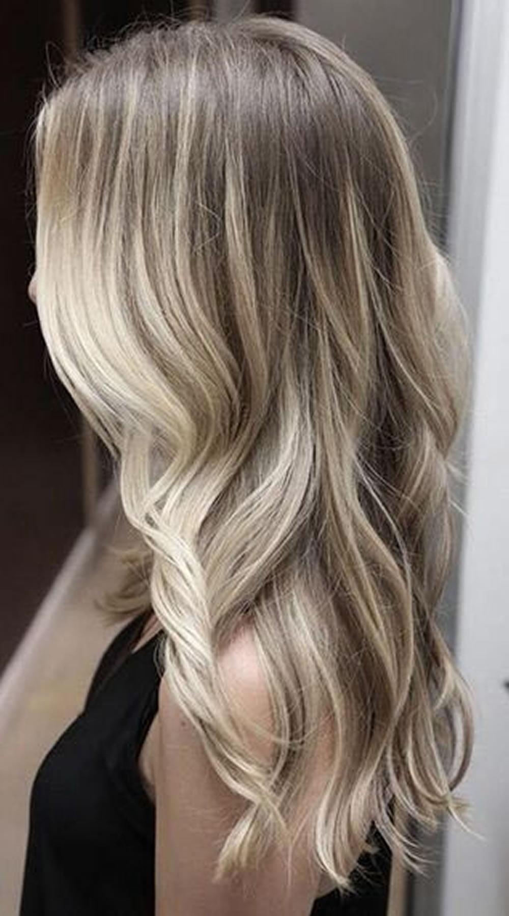 Balayage Ombre Highlights 2018 Dark Brunette Blonde Etc Hair