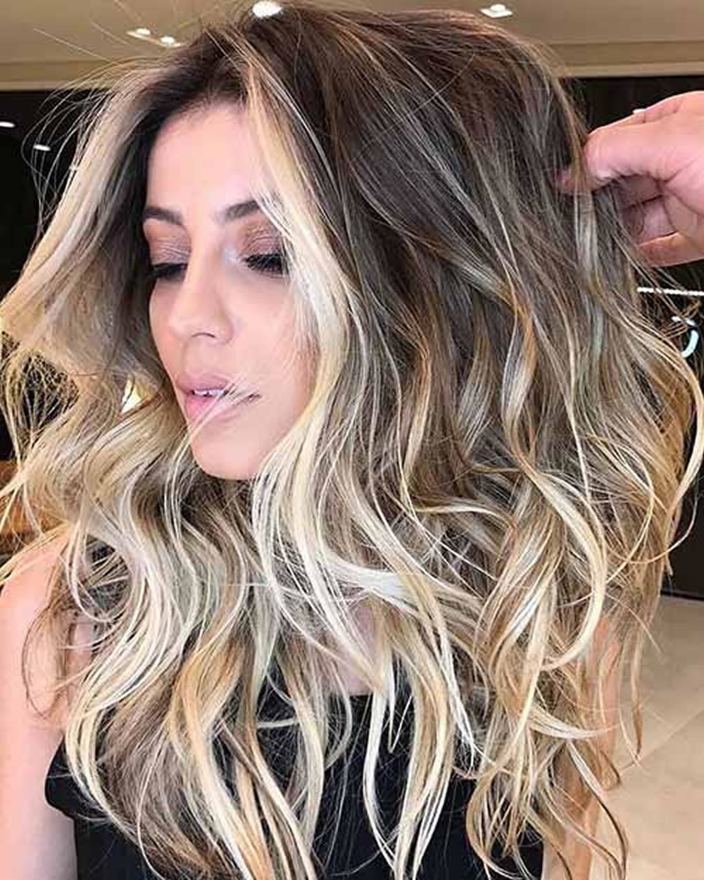 Brown Hair Ombre Highlights Brown Hairs