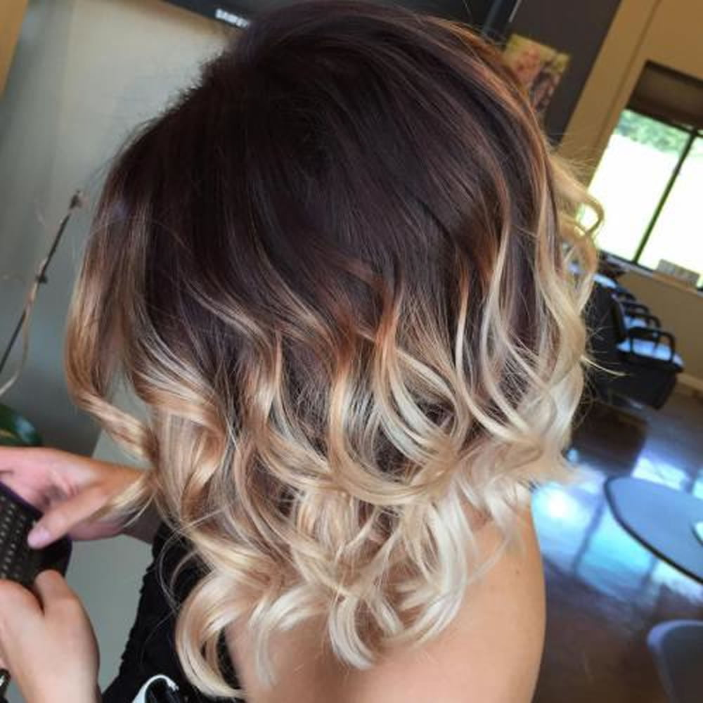 balayage ombre highlights 2018 dark brunette blonde etc. Black Bedroom Furniture Sets. Home Design Ideas
