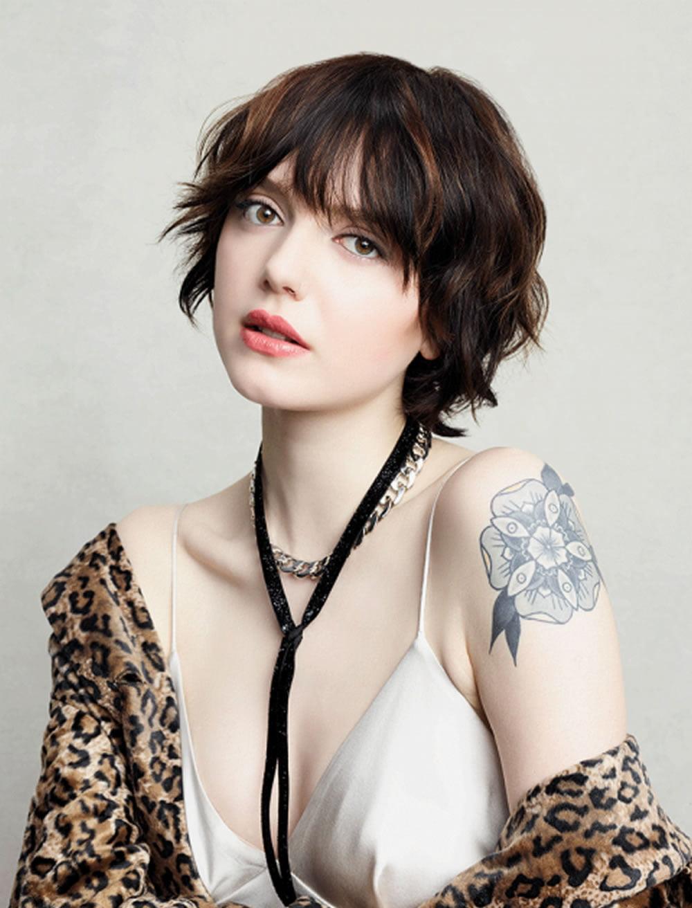 Easy Hairstyles For Short Hair 2018-2019 & Pixie Hair Cuts