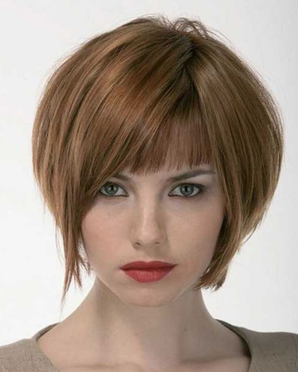 30 best short bob haircuts with bangs and layered bob hairstyles page 9 of 10. Black Bedroom Furniture Sets. Home Design Ideas