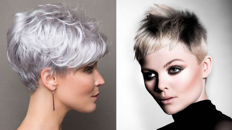 Short Haircuts for Women 2018 - Pixie+Very Short Hair Color Ideas
