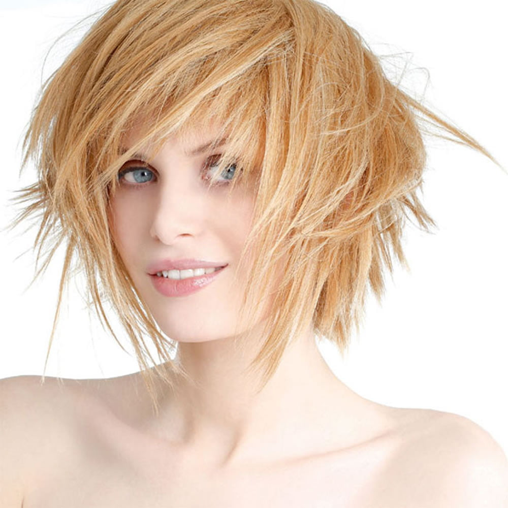 Latest Short Haircuts for Women: Curly, Wavy, Straight ...- photo #50