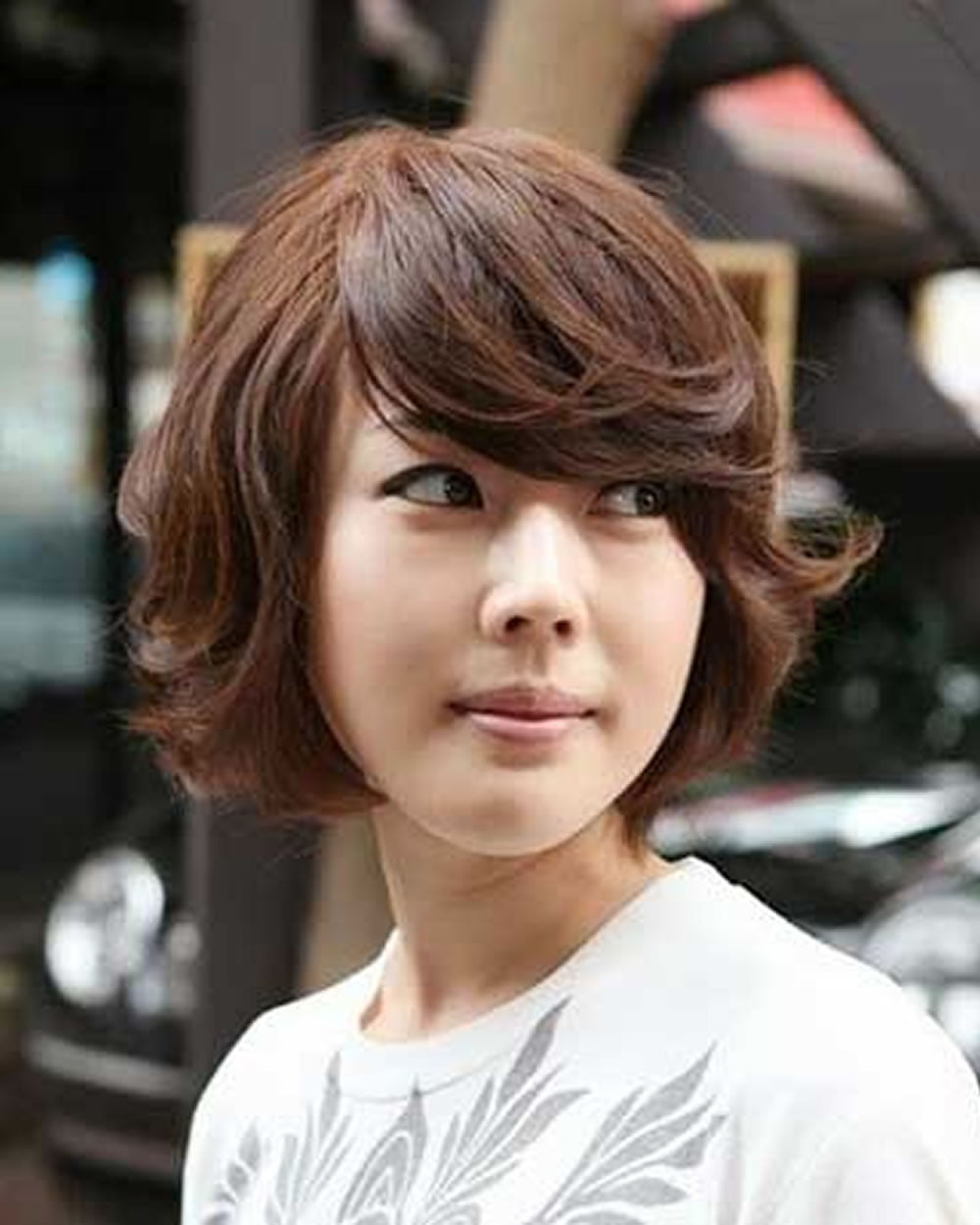 Latest Short Haircuts For Women Curly Wavy Straight Hair Ideas