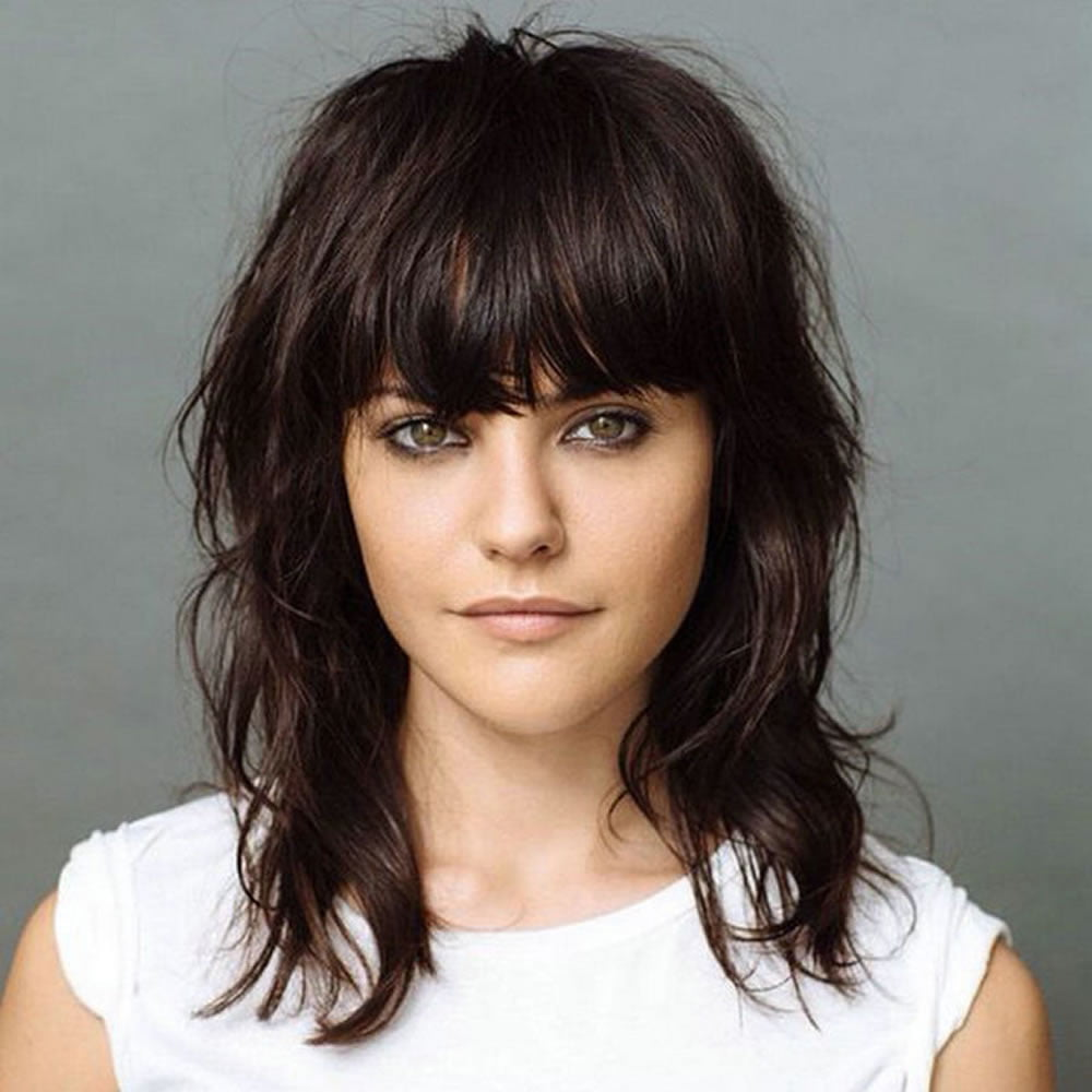 Short Shag Haircuts And Medium Shag Hairstyles Shaggy Hair Image