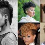 Undercut Hairstyles for Black Women - Best Undercut Hair Images for Short Hair 2018-2019