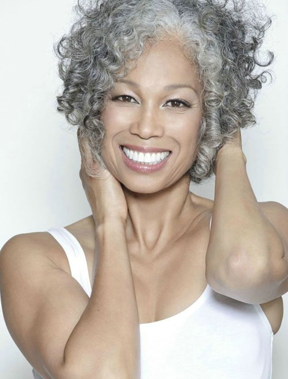 Curly Short Hairstyles for Older Women Over 50 - Best