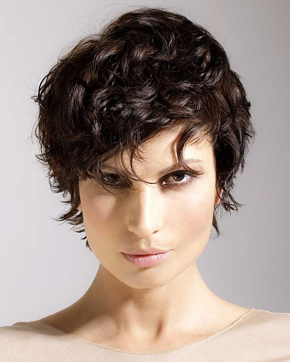 Curly Short Haircuts amazing hairstyle